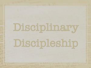Disciplinary 1